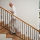 tarima flotante escaleras